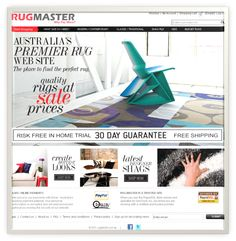 Rug Master (Magento Site)