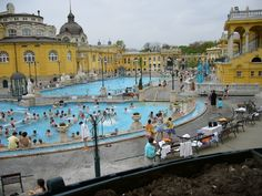 Szechenyi thermal baths in Budapest. On my bucket list!