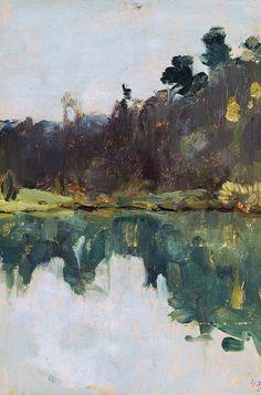 Левитан И.. Берег озера
