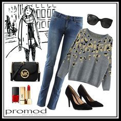¡¡Arranca MBFWM!! La boutique #Promod ha sido la encargada de preparar nuestros estilismos para lucir perfectas durante los días del evento. Para aguantar todo el día no hay nada como apostar por unos buenos jeans y si son de talle alto mucho mejor. Para conseguir un look cómodo y elegante Promod nos propone combinar un jersey animal print en colores neutros con jeans y stilettos ¿Qué os parece?  #Modalia   http://www.modalia.es/disenadores/pasarelas/madrid/8455-looks-mbfw-promod.html