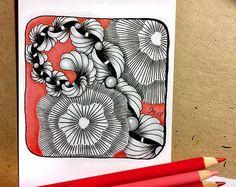 Zentangle artwork by Ina Sonnenmoser
