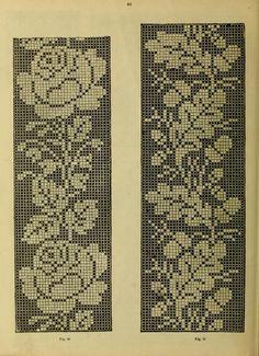 ru / Фото - The Priscilla cross-stitch book - livadika Filet Crochet, Crochet Borders, Crochet Cross, Cross Stitch Books, Cross Stitch Borders, Cross Stitching, Cross Stitch Embroidery, Cross Stitch Patterns, Hand Embroidery