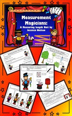Measurement Magicians: A Measuring Length Unit contains various games, activities, and worksheets to help your students practice measuring lengths in both centimeters and inches. Answer keys to worksheets are included....