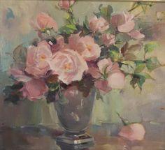 Alice Estelle James Floral Still LIfe oil on by tlgvintageart