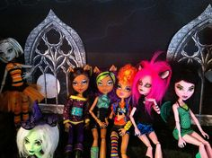 Shelf for monster high | gothic window with a fulll moon u c… | Flickr - Photo Sharing!