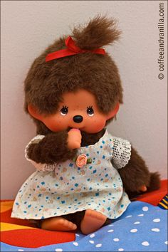 Oh my, I loved Monchhichi when I was little. I may need to do an eBay search in the near future.