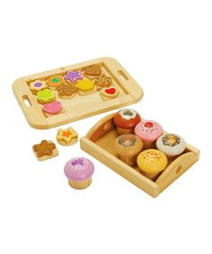 Another great find on #zulily! Sweet Treats Play Set #zulilyfinds