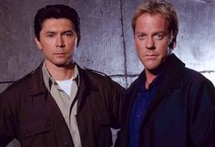 Kiefer Sutherland and Lou Diamond Phillips NOW