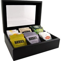 Wooden Tea Bag Chest