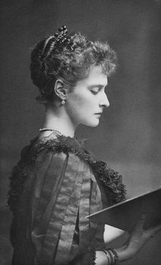 Empress Alexandra Feodorovna of Russia. 1894...