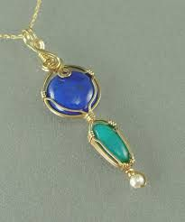 wire wrapped pendants - Google Search