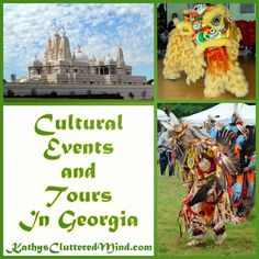Kathys Cluttered Mind: Cultural Events and Tours In Georgia