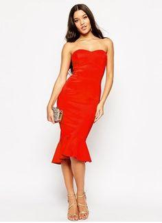 Trumpet/Mermaid Strapless Sweetheart Knee-Length Satin Cocktail Dress