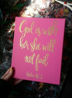 Bible Verse Canvas Painting Canvas Sign by PicklesPaintingCo