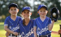 Love of the game: Giants Baseball Club juniors Lincoln Carter, Taylor Napier and Ben Napier. Picture: John Veage