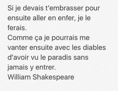 Discover recipes, home ideas, style inspiration and other ideas to try. William Shakespeare, Citation Shakespeare, Best Quotes, Love Quotes, Words Quotes, Sayings, Poems Beautiful, Pretty Words, Some Words