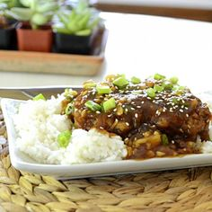 Sweet Sour Spicy General Tso's Pork Chops!