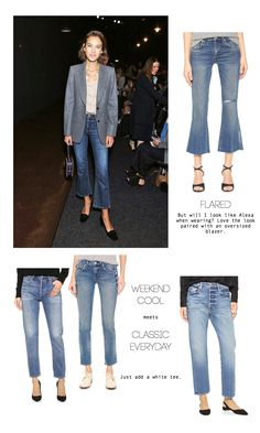 best cropped denim styles for spring