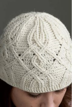 00000This Crochet Hat Features An Intricate Woven Design. Aparna Rolfe has created a unique appearance with this crochet hat. The woven appearance of this hat catches the eye and makes it really stand out. This pattern can be purchased on Ravelry.com. Go here for more examples and to purchase the pattern. Happy Crocheting!  PHOTO …