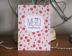 free printable merci maitresse