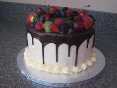Fresh Fruit &amp Ganache — Cakes cakepins.com