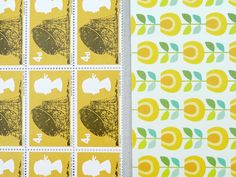 Yellow paper set from Present & Correct