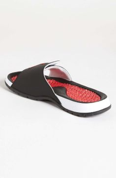 Nike 'Jordan Hydro V Retro' Slide (Men) | $52 | gifts for the sporty guy | mens slide sandals | athletic | sports | menswear | mens style | mens fashion | wantering