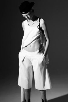 WAD MAGAZINE || Top and Shorts PEDRO NETO || Photography MARCO VAN RIJT || Styling JEANPAUL PAULA