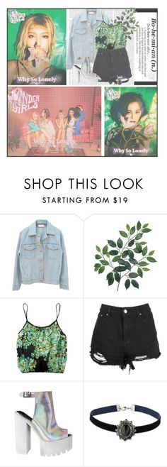 """Why So Lonely--- Wonder Girls {Set 2}"" by alicejean123 ❤ liked on Polyvore featuring Only Hearts and Topshop"