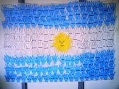 Resultado de imagen para dia de la bandera argentina decoracion Christmas Garden, Diy Garden Decor, Art For Kids, Outdoor Blanket, Crochet Hats, Classroom, Ideas, Mayo, Colonial