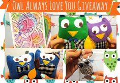 Cheers to Novelty: OWL ALWAYS LOVE YOU GIVEAWAY