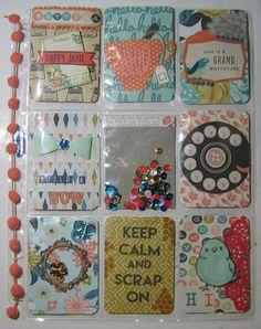 Kunst á la Card: Pocket Letter mit Überraschungsthema