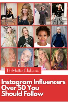 We made a list of our favorite Instagram influencers over 50 that you should follow. These women surely embodies positive ageing and provides a ton of inspiration every day! Check them out! #womenover50 #inspirationalwomen