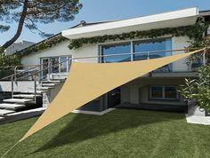 Shade Screen, Garden Design, House Design, Outdoor Shade, Veg Garden, Modern Backyard, Outdoor Living Areas, Sun Shade, Garden Projects