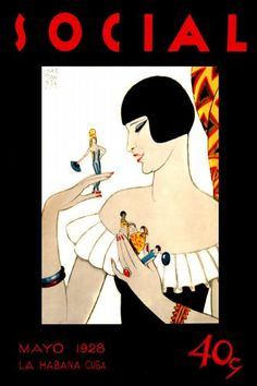 cuban deco inspired illustration - 1928