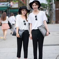 Matching Couples Outfits - Asian Street Style Trends