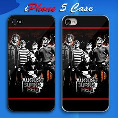 August Burns Red Metalcore Band Custom iPhone 5 Case Cover