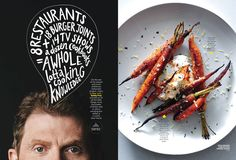 Bon Appetit, March 2014. Design by Alaina Sullivan