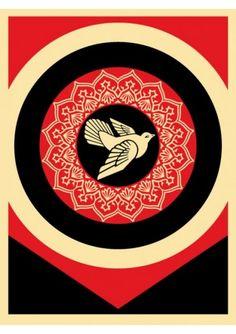 #shepardfairey #obey Surface and Surface Set 2011Lot de 2 serigraphies 63 x 48 cm Numerotées : 218/325; 218/325 Signées 900€