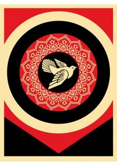 #shepardfairey #obey Surface and Surface Set 2011Lot de 2 serigraphies 63 x 48 cm Numerotées : 218/325; 218/325 Signées 900€