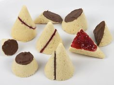 If only Algebra II class had been this tasty ... Scones - S'Conic Sections :-) Use paper water cups as baking wrappers