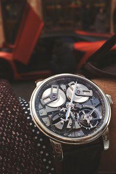 Vintage Tissot Chronograph mens watch, vintage swiss watch
