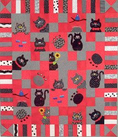 Catnip Quilt Pattern.  Have pattern, fabric and buttons for eyes.  One to do this year