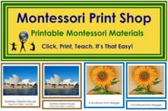 The Best Montessori Printables - Racheous - Respectful Learning & Parenting