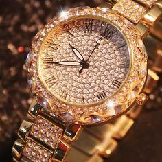 Orologio di lusso quarzo acciaio inox braccialetto Michael Kors Watch, Watches, Accessories, Products, Fashion, Rose Gold, Clock, Moda, Wristwatches