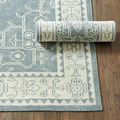 Yves Hand Knotted Rug - Ballard Designs.  8x10 rug is $1099 retail / $989.90 net.
