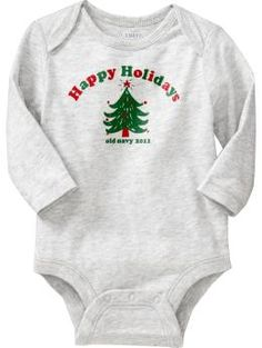 Christmas 2011 Bodysuits for Baby $5.00