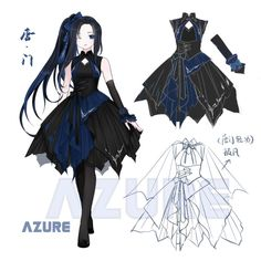 JXcom on-line model fan map illustrator wallpaper sword internet Three Lolita Clothes Draw, Drawing Clothes, Fashion Design Drawings, Fashion Sketches, Clothing Sketches, Anime Dress, Dress Drawing, Fantasy Dress, Character Outfits