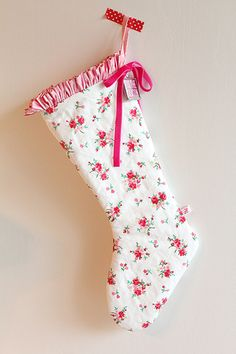 Pam kitty Love Christmas stocking