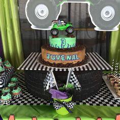 Monster jam gravedigger party | CatchMyParty.com